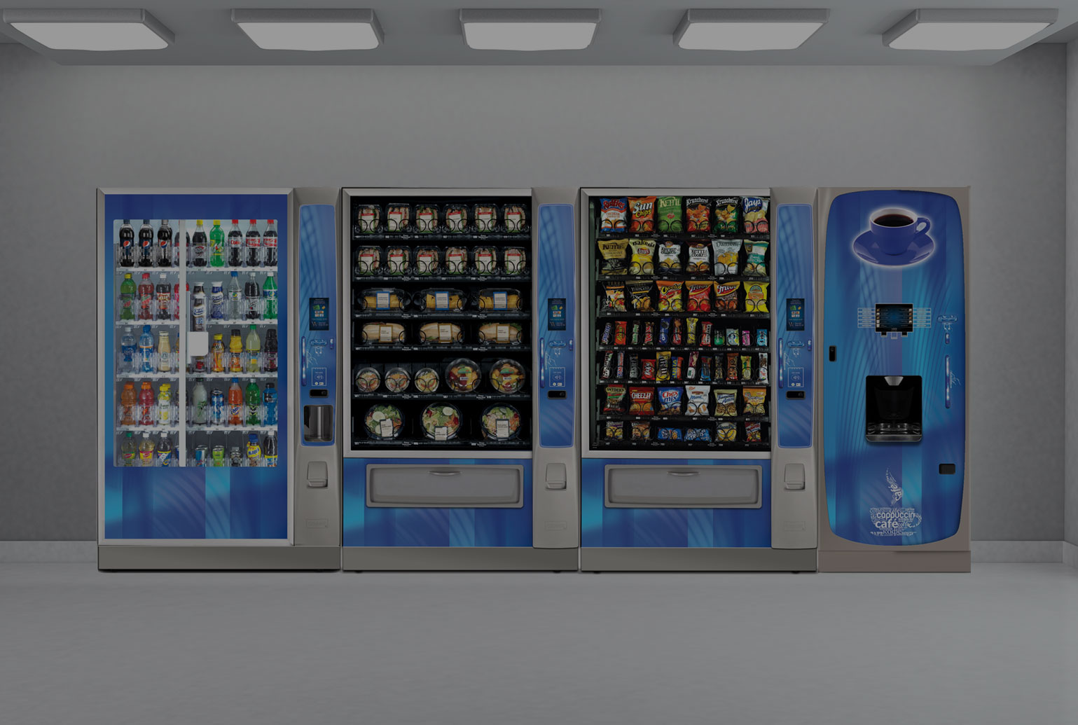 Vending machines in Illinois